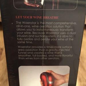 Waerator Kitchen - NWT Instant Wine Aerator